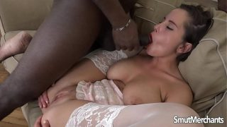 Hot girl Ana Bell Evans lots of interracial anal